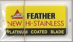 Feather Brand Platinum Coated Blades
