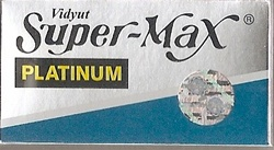 Super-Max Double Edge Blades - 5 pack