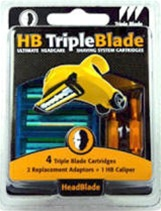 HeadBlade Triple Blade Refill Kit