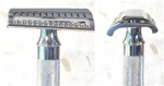 Merkur Heavy Duty Slant Head Double Edge Chrome Razor