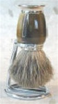 Pure Badger Bristle Nickel and Galaith Brush