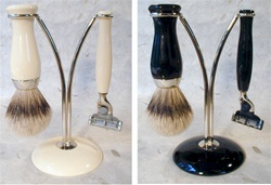 Slim Line Three Piece Silver Tip Set