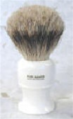 Pure Badger Faux Ivory Brush from England