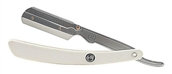 Parker Faux Ivory Handle Barber Straight Razor