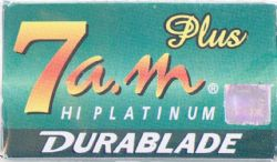 7am Double Edge Razor Blades - 5 pack