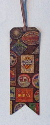 Bookmarks with Banner Cut Motif and Vintage Image - 3