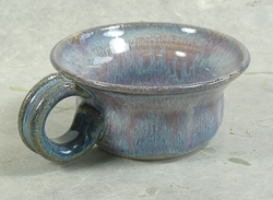 Handcrafted Ceramic Flared-Top Shaving Mug