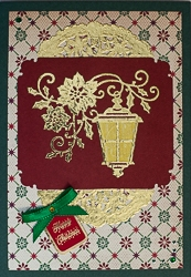 Christmas Holiday Greeting Card - rc-1
