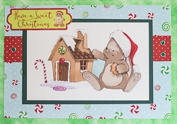 Christmas Holiday Greeting Card - rc-12