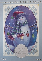 Christmas Holiday Greeting Card - rc-4