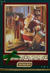 Christmas Holiday Greeting Card - rc-7