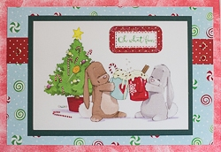 Christmas Holiday Greeting Card - rc-8