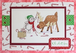 Christmas Holiday Greeting Card - rc-9