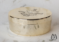 Gold Dachs Soap and Plastic Container - Seconds