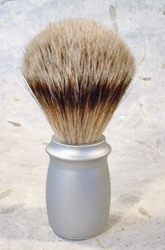 Aluminum Handle Silver Tip Shaving Brush