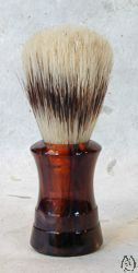 Boar Bristle Brush - havanna acrylic concave handle