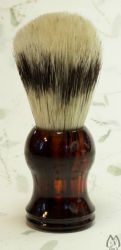 Boar Bristle Brush - havanna acrylic handle