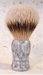 Silver Tip Badger Faux Marble Shaving Brush