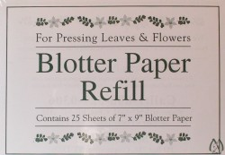 "7"" X 9"" Flower Press Refill Paper"
