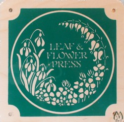 "7"" X 7"" Square Leaf & Flower Press"