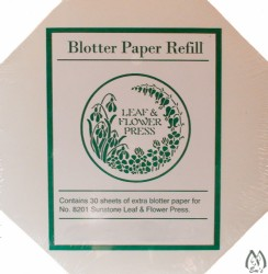 "7"" X 7"" Refill Paper for Square Leaf & Flower Press"