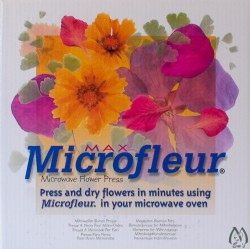Microfleur Max Microwave Flower Press, Large