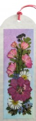 Photo-Real Pressed Flower Bookmark - 2