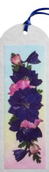 Photo-Real Pressed Flower Bookmark - 6