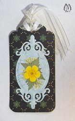 Handmade Pressed Flower Bookmark with Buttercup