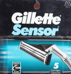 Gillette Sensor Two Blade Cartridges - 5 pack