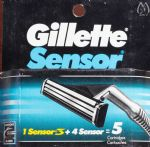 Gillette Sensor Refill Blade Cartridges - 5 pack
