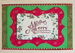 Gift Card Holder Handmade Greeting Card - 01