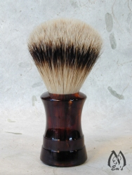 Havanna Concave Handle Shaving Brush - Silver Tip Badger