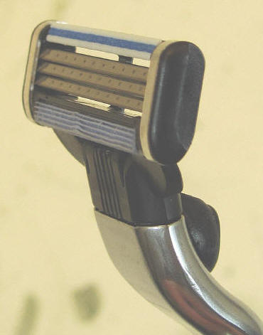 Gillette mach3 razor cartridge